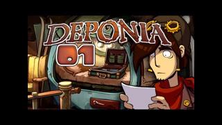Let's Play Deponia #001 [Deutsch] [HD+] - Willkom... äh.. Tschüss!