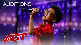 """14-Year-Old Kelvin Dukes Sings """"Ain't No Way"""" by Aretha Franklin - America's Got Talent 2020"""