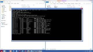 Linux Tutorial 1 - Copy files to a remote server using Putty PSFTP