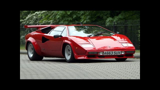 Old Top Gear 1991 - Lamborghini Countach 20th Anniversary