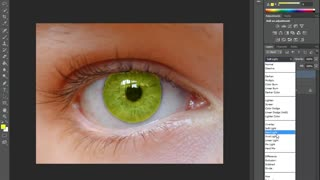 Photoshop CS6 _ Eye color-1