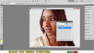 Tutorial Photoshop CS5 - How to blend two pictures together