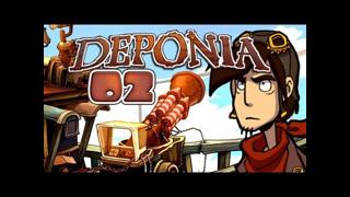 Let's Play Deponia #002 [Deutsch] [HD+] - Supermodernes Space-Shuttle