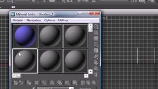 3Ds Max Tutorial - 15 - Material Editor (360p)