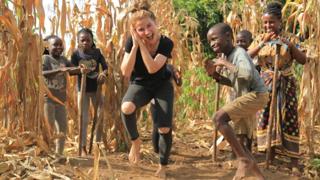 Masaka Kids Africana Dancing Joy Of Togetherness ft 3wash_hip_hop & Karina Palmira
