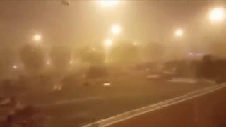 Tempête de sable à la Mecque 19 août 2018 !