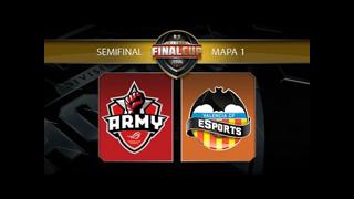 ASUS ROG Army vs Valencia CF eSports - #FinalCup11 - Semifinal - Gamergy Orange Edition -Mapa 1